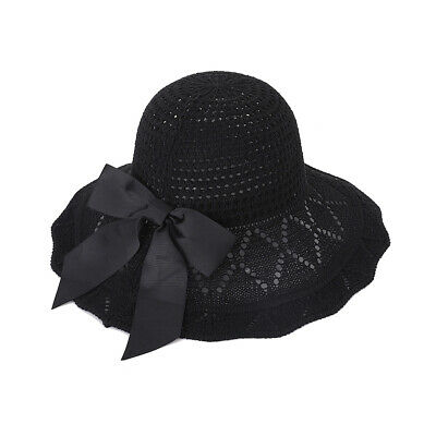 Outdoor Cotton Ladies Beach Women Protection Summer Hat Sun Travel Big Cap