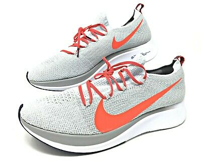 696cd08c8 Nike Zoom Fly Flyknit Pure Platinum/Bright Crimson Men's Running 12.5 AR4561 -044