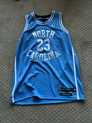 e34421791a7e Jumpman Michael AIR Jordan Mens XL Jersey  23 North Carolina UNC Tar Heels-  NWT