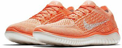 new concept df31c 97b44 Nike Free Rn Flyknit 2018 Running Shoes 942839-801 Crimson Women Size 7.5