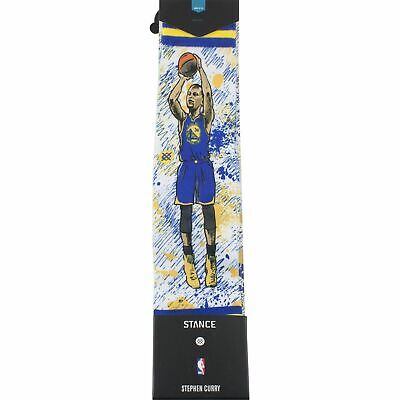 728227d9762 Stance Nwt Nba Steph Curry Golden State Warriors Big Head Socks Size Large  9-12