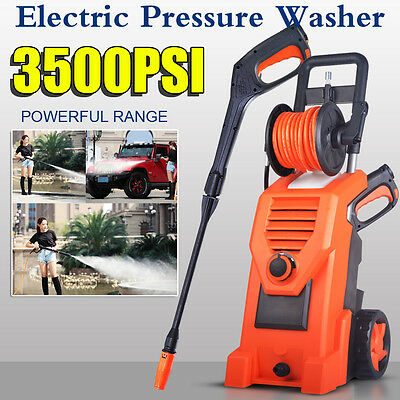 3500 PSI/241 Bar Electric High Pressure Washer Hot/Cold Water Patio Cleaner