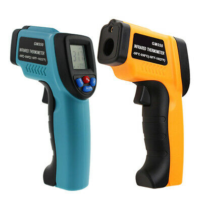 GM550 Digital IR Infrared Laser Thermometer Temperature Non-Contact Handheld Gun