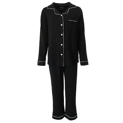 New riposo Women's Long Sleeve Bamboo Pajama Set