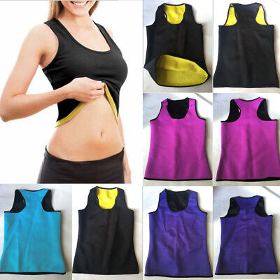 Useful Sweat Sauna Body Shaper Women Slimming Vest Thermo Neoprene Waist Trainer
