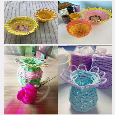 String Crafts DIY Gift Kindergarten Rope Paper Cord Home Decoration T