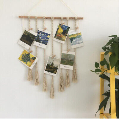 Tapestries Macrame Wall Hanging - Cotton Rope Woven Tapestry Boho Chic Home T