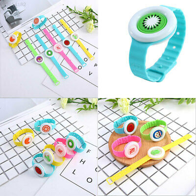 27E2 Lovely Pest Control Cartoon Repellent Bracelet Random Style Rubber Insect