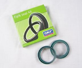Genuine SKF Fork & Dust Seal Kit 1 Leg 48mm white power seal kit for motorbike f