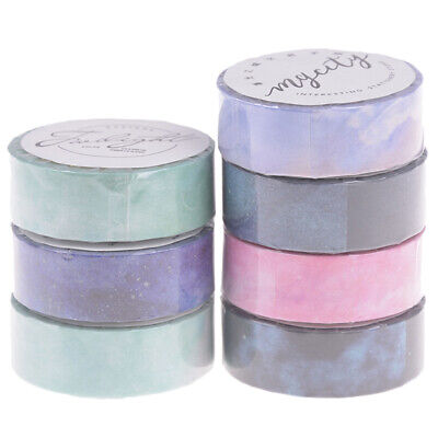 Creative dream sky decorative adhesive tape masking tape Scrapbooking diy ^S
