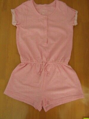 Next Girls Pink Short Sleeved Shorts Playsuit Pyjamas - Age 11 Years