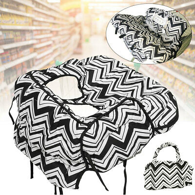 Baby Kids Child Shopping Trolley Cart Seat Pad High Chair Cover Mat Protector