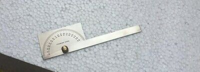 Stainless Steel 0 - 180°  Degree Square Head Protractor