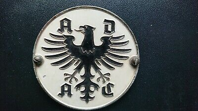 Badges & Mascots Adac Germany Wuerttemberg Heimat Rallye 1960 Badge Car Grill Badge Emblem