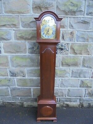 Antique Mahogany Granddaughter Clock M Tooley
