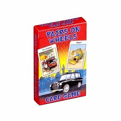 Children's Traditional Card Games - Pairs On Wheels