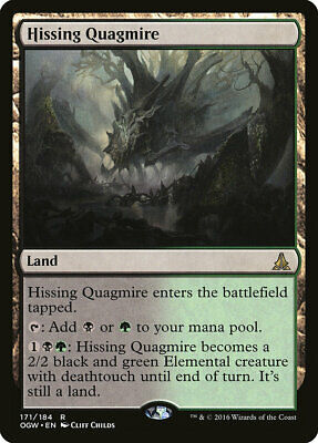 MTG - Hissing Quagmire - Oath of the Gatewatch - X1 - (LP) - FREE SHIPPING