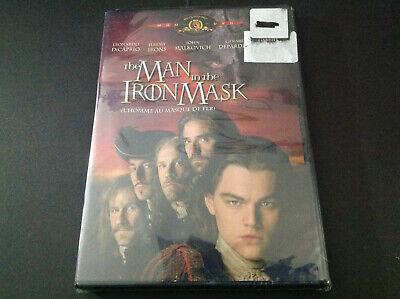 The Man In The Iron Mask    ( Dvd  ) Leonardo Dicaprio  Jeremy Irons