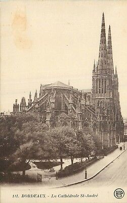 Cp Bordeaux Cathedrale St-Andre - B 6532