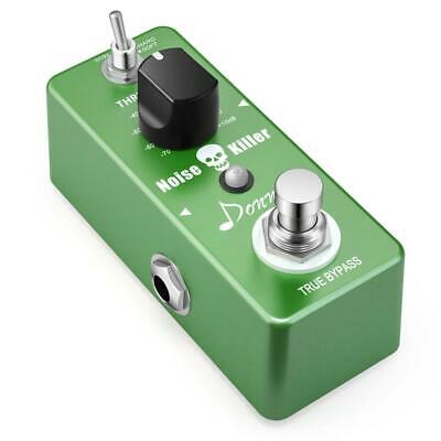 Donner Noise Killer Effect Pedal Guitar Gate Suppressor green