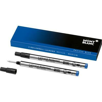 Montblanc Rollerball LeGrand Refills (M) Pacific Blue 105165 – Refill...