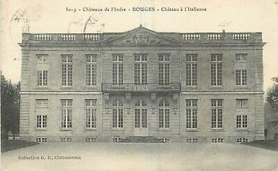 Cp Bouges Chateau A L'italienne B 4618