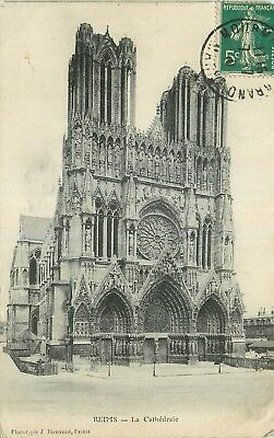 Cp Reims Cathedrale - B 39366