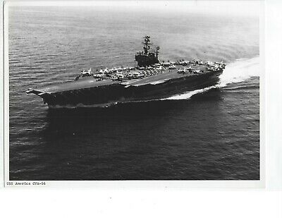 Original Photo Uss America Cva-66
