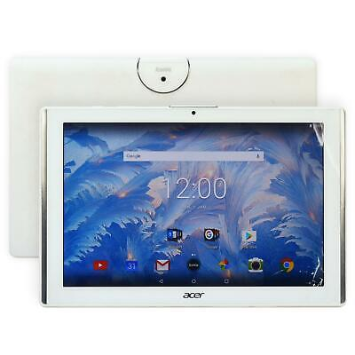 "Acer Iconia One 10"" B3-A40 WiFi 16GB Camera Android Quad Core Tablet  White"
