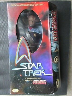 "New Star Trek Insurrection Lt Commander Worf 12"" Action Figure Special Collector"