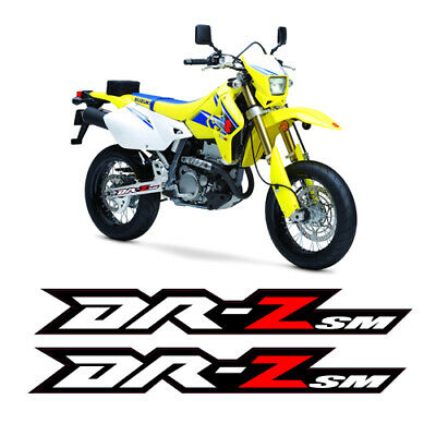 2019 DRZ400SM GRAPHICS Full Kit Suzuki Drz400Sm Decals