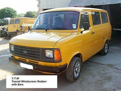 """Ford Transit Mk2 Windscreen, Front Screen Rubber with Corner """"Ears"""""""