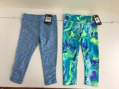 Under armour girls lot of leggings pants size 2t nwt $60
