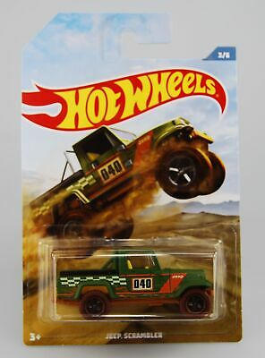 Hot Wheels 2019 Jeep Scrambler Off Road Trucks Series 3/6 Fyy71 New