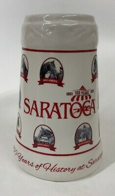 Collectible Stein - Saratoga Racetrack 150 Years