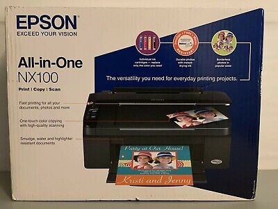 EPSON STYLUS NX100 ALL IN ONE PRINTER DOWNLOAD DRIVER