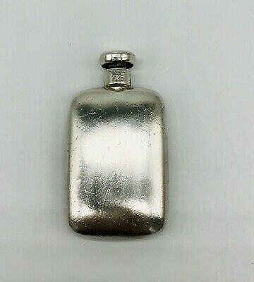 Tiffany & Co Signed Sterling Silver Perfume+Lid Bottle/Flask