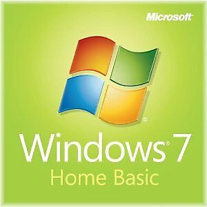 Windows 7 Home Basic ISO 32/64bit English NO LICENSE KEY