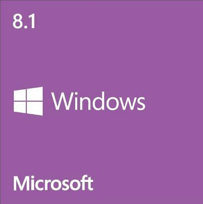 Windows 8.1 ISO 32/64bit English NO LICENSE KEY
