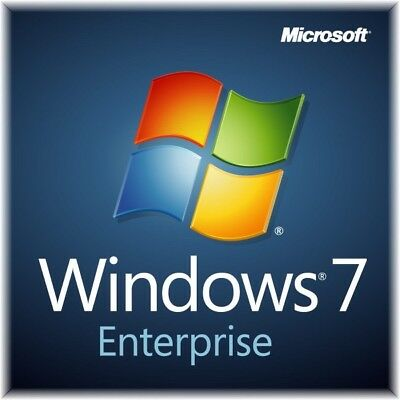 Windows 7 Enterprise ISO 32/64bit English NO LICENSE KEY