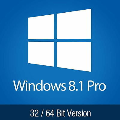 Windows 8.1 Professional ISO 32/64bit English NO LICENSE KEY