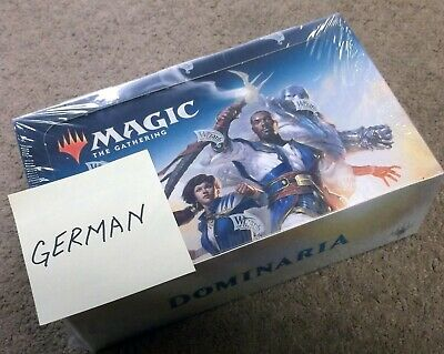 Magic The Gathering Dominaria German Booster Box Free Same Day Priority Shipping