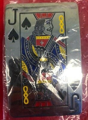 **Nice** Jack Playing card Belt Buckle