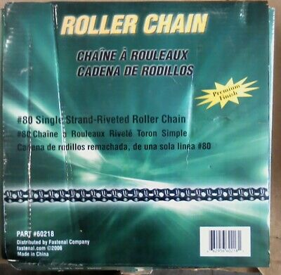 Fastenal # 60218 80-1R-10Ft Roller Chain