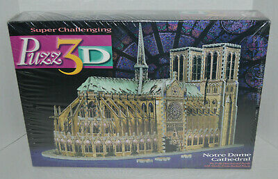 NEW PUZZ3D/Puzz 3D NOTRE DAME CATHEDRAL 3D Puzzle 952 pcs From 1996