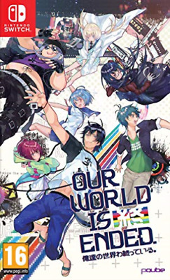 Nintendo Switch-OUR WORLD IS ENDED DAY ONE ED GAME NUOVO