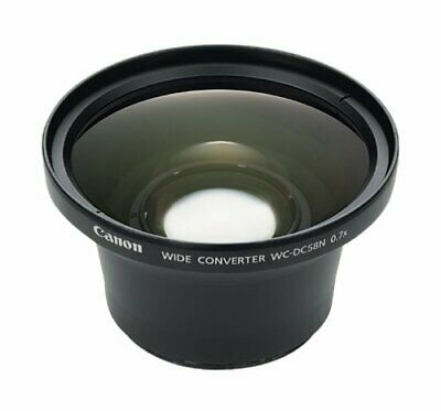 Canon WCDC58N Wide Angle Converter Lens Adapter WITH POUCH AND 2 LENS CAPS