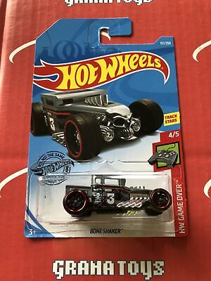 Bone Shaker #117 Grey 2019 Hot Wheels Case K