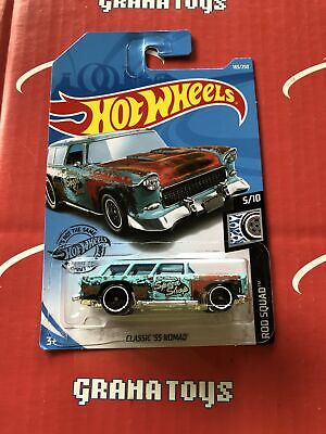 Classic '55 Nomad #183 2019 Hot Wheels Case K