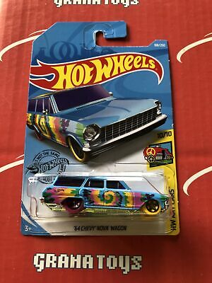 64 Chevy Nova Wagon #188 2019 Hot Wheels Case K